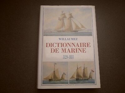Dictionnaire De Marine 1820-1831 Amiral Willaumez Chasse Maree Ar Men