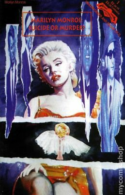 MARILYN MONROE - Suicide or Murder? Publisher's File Copy Comic Book bio mintCOA