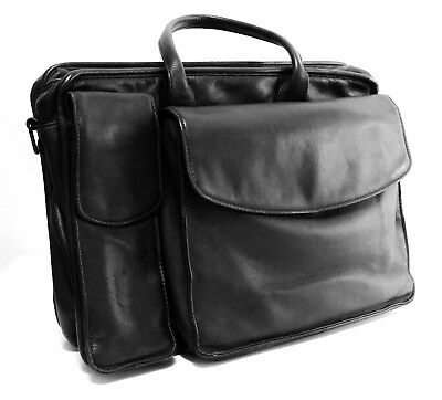 Franklin Covey soft full-grain Nappa leather Professionals laptop bag + Planner
