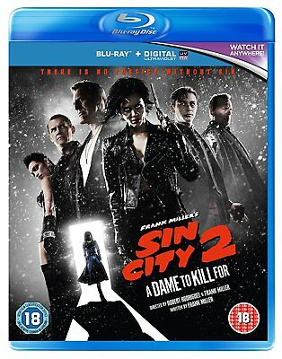 Sin City 2: A Dame to Kill For Blu-ray + slipcase