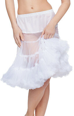 Stockerpoint Traditional Costume Petticoat White