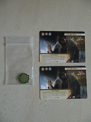 Game of Thrones TCG Tournament Set (2x Summoned, 1 Token)
