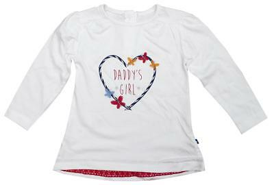 Girls Baby Daddy's Girl Butterfly Heart Long Sleeve Top Newborn to 12 Months