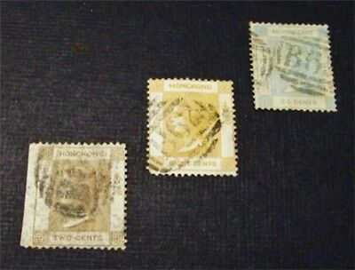nystamps British Hong Kong Stamp # 8 // 18 Used $32