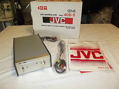 JVC CD-4 Disc Demodulator Model 4DD-5   Vintage Made in Japan NEW in BOX