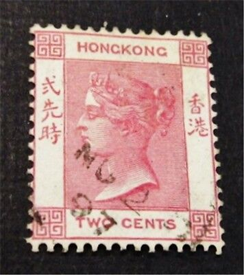 nystamps British Hong Kong Stamp # 36 Used $33