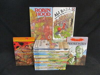 24 Selection Of Ladybird's Children's Classics, Fables & Legends Plus Horror