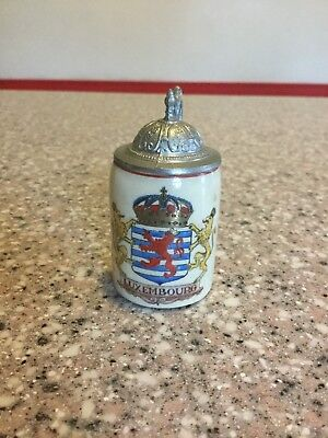 Luxembourg Mini Beer Stein
