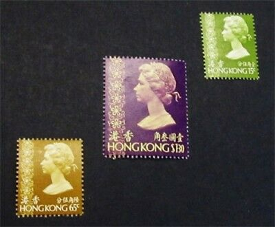 nystamps British Hong Kong Stamp # 276 // 284 Mint OG H $32
