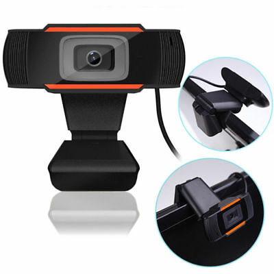 USB 2.0 1080P 12MP Webcam Camera with MIC Clip-on for Computer PC Laptop Desktop