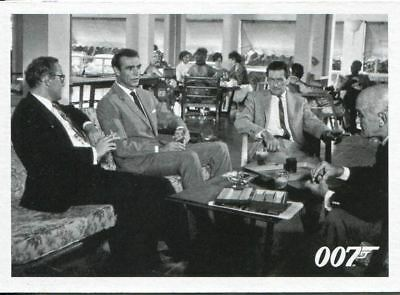 James Bond 50th Anniversary Series 1 Dr. No Throwback Movie Card #031