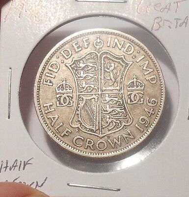 1946 Great Britian Half Crown......Free Combined Shipping  Lot 759