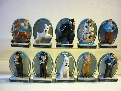 Feve Rare Tintin Or Nom Des Personnages  - Serie Complete