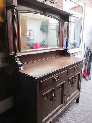 Mirror Back Sideboard