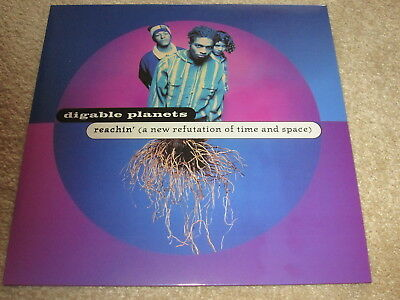 Digable Planets - Reachin' (A New Refutation Of Time & Space) - New - Lp Record
