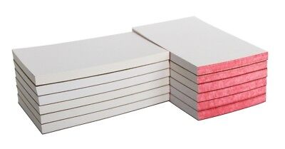 12 Pack School Smart Scratch Pad With Chipboard Back 3 X5 In 100 Sheets White