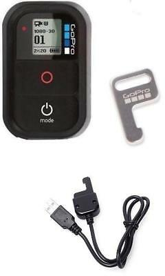 GoPro Wifi Remote Control WiFi Hero 6 ,5, 4 / 3+ / 3 / 2 + Charging Cable Inc.