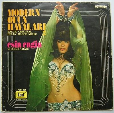 "LP ESIN ENGIN ""Modern Oyun Havalari 2"" rare Turkish Belly Dance 1975 HEAR [vg+]"