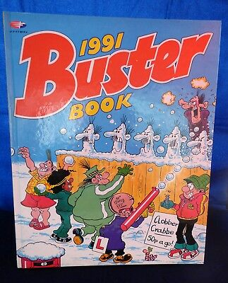VINTAGE   1991 -   BUSTER  Book / Annual  -  EXCELLENT CONDITION  Unclipped