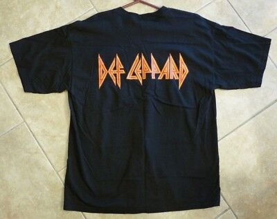 Def Leppard Upstaging Crew Issued T Shirt NEW XL