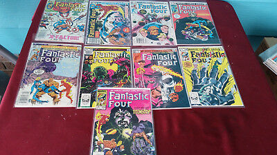 Marvel Comics Fantastic Four Lot of (9) #250, 252 Thru 259 High Grade Copies