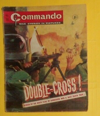 Commando Comic # 95 , Vg Early 1960S Issue .