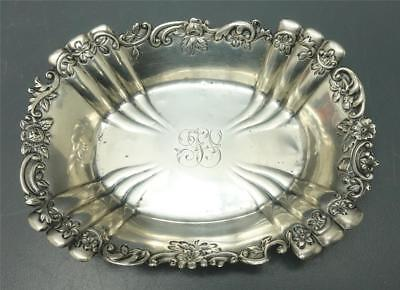 Sterling Silver Soap Pin Trinket Dish Birmingham England 49.2 grams monogramed