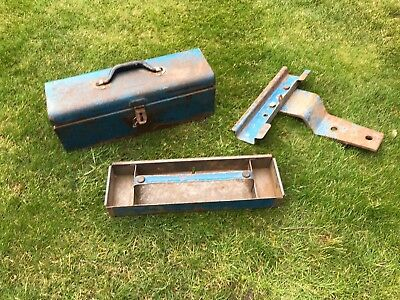 Ford Tractor Toolbox and Bracket, Roadless
