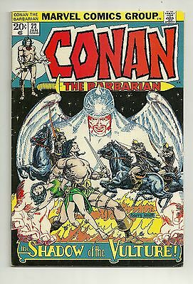 CONAN THE BARBARIAN #22 ~ 1973 MARVEL COMICS ~ FINE+ ~ Shadow of the Vulture
