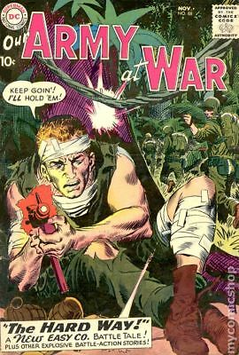 Our Army at War #88 1959 VG- 3.5