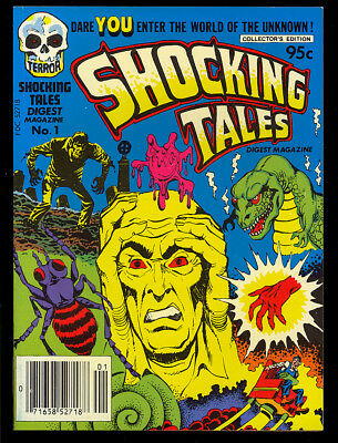 Shocking Tales Digest #1 High Grade Powell, Kirby, Nostrand Art 1981 VF-NM