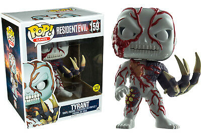 "POP! VINYL ~ Resident Evil Tyrant Glow in the Dark 6"" Vinyl Figure (Funko) #NEW"