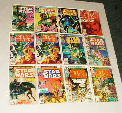 % 1977-80's Marvel Star Wars  Comic Book Collection Lot M-23
