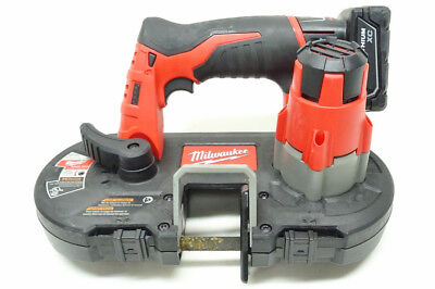 Milwaukee 2429-20 M12 12V Cordless Sub-Compact Band Saw 9/L151746A
