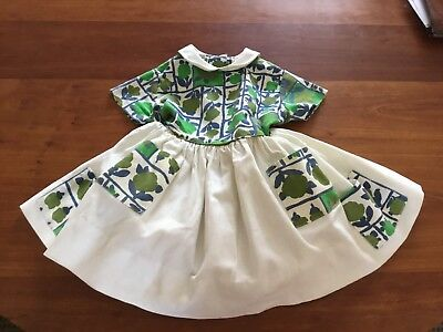 Vintage Girls Shepardess Easter Dress - Attached Tulle Petticoat - 3 - 4T