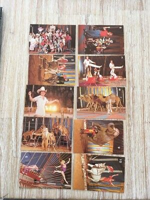 Gold Crest Ashton's Circus card Set 18 Cards (Circa 1984)