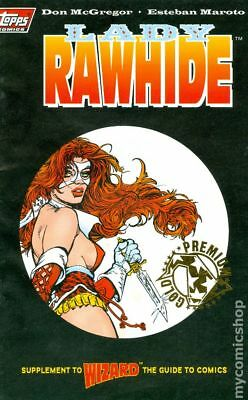 Lady Rawhide Ashcan 1GOLD 1995 VF Stock Image