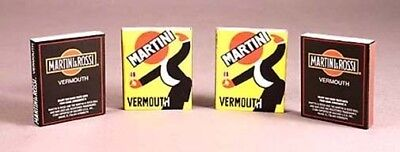 Set of 50 Genuine MARTINI & ROSSI matchboxes -NEW -MINT