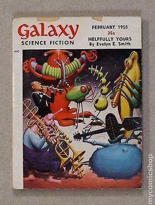 Galaxy Science Fiction (pulp/digest) #Vol. 9 #5 1955 GD+ 2.5