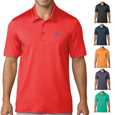 adidas Golf Mens Ultimate 365 Solid Moisture Wicking Polo Shirt Top 40% OFF RRP