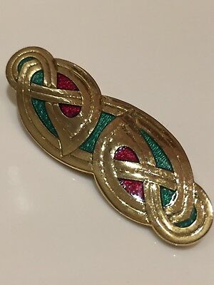 Sea Gems UK Enamel Celtic Pin Brooch