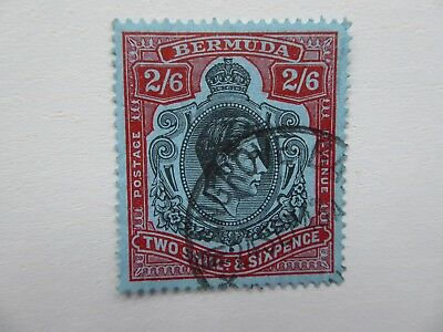 Bermuda GVIth 1943 2/6 fine used
