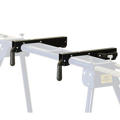 Set Of Universal Clamps Clips Mitre Chop Saw Leg Stand Miter Mount Clamp