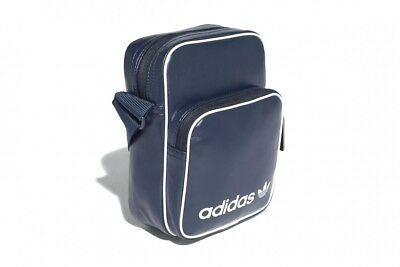 Adidas Originals Mini Vintage Bag Cd6976 Collegiate Navy White Travel Side  Bag b7ea657bcdc77