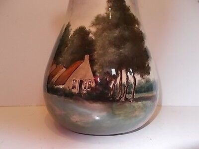 WED.N.S.A.BRANTJES Co POTTERY PURMEREND PAYSAGE COUNTRYSIDE SCENES VASE 22cms #1