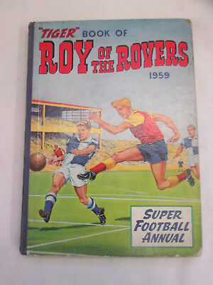 Vintage Annual Roy of the Rovers 1959