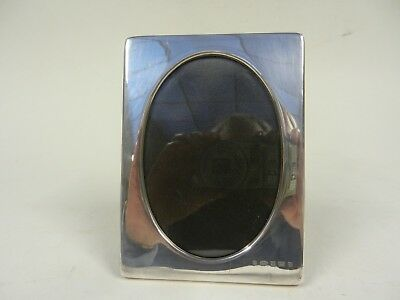 Silver fronted photo frame