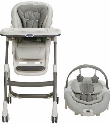 Graco Sous Chef 5-in-1 Seating System High Chair, Davis