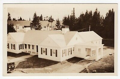THE HOSPITAL Quoddy Maine ME Antique RPPC Real Photo Postcard