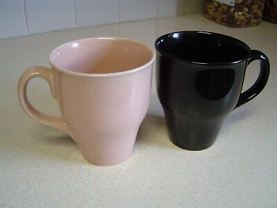 2  large   Russel Wright   cups  mugs  vintage